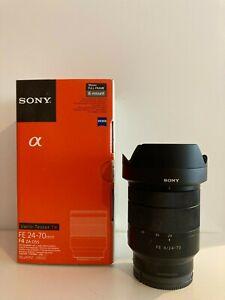 Sony E Mount FE 24-70mm f4 Lens