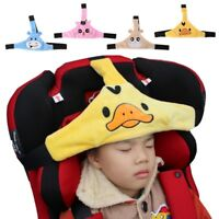 Baby Car Safety Seat Head Fixing Adjustable Band Sleep Support Holder Stroller