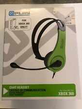 Xbox 360 Wired Chat Headset by @Play Gaming Accessories Brand New