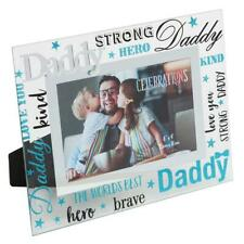 """Daddy Gift - Daddy glass picture photo frame 6""""x4"""" FG573DY"""