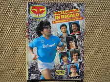 CALENDARIO CALCIO CAMPIONATO 1986/87 SU ONDA TIVU #38 MARADONA BONIEK PLATINI