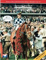 SECRETARIAT, EDDIE SWEAT, RON TURCOTTE AT KENTUCKY DERBY - HORSE RACING PROGRAM!