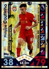 Match Attax 2016-2017 EXTRA Philippe Coutinho Liverpool Magic Moments No. MM3