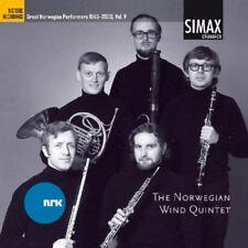 GREAT NORWEGIAN COMPOSERS - NORWEGIAN WIND QUINTET [CD]
