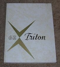 "PORT HURON JUNIOR COLLEGE in Michigan MI 1962 62 ""TRITON"" Yearbook NICE!"