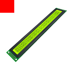 40x2 4002 Character LCD Display 5V Module BLACK on GREEN Color (  HD44780 )