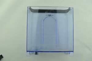 KRUPS XP4030 Water Tank Reservoir & Handle Compartment Part Clear Blue Plastic
