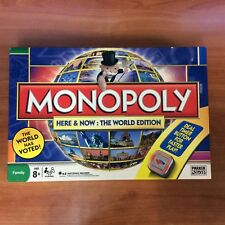 2008 Board Game - Monopoly Here & Now : The World Edition