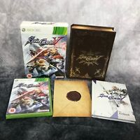 SoulCalibur V Collector's Edition Xbox 360 PAL Game Complete Namco Fighter Rare