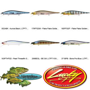 Lucky Craft Jerkbaits Lightning Pointer 110XR (LTPT110X) Any 6 Lure Color 4.5 In