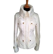 Gucci White Ski Jacket with Removable Fur Llining Size 46 Italian / 10 USA