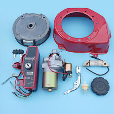 Electric Starter Flywheel Cover Ignition Charging Coil Kit For Honda GX160 GX200