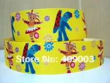 "In the Night Garden Ribbon 1"" Wide NEW UK SELLER FREE P&P"