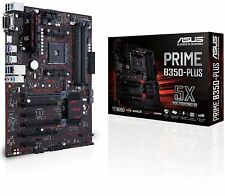 Asus Prime B350-PLUS AMD Ryzen ATX B350 Socket AM4 PC Gaming Motherboard