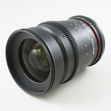 Samyang 35mm T1.5 AS UMC Aspherical Lens VDSLR for Canon EOS video 5D III 700D