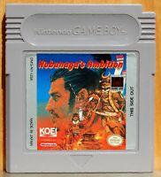 Nomunaga's Ambition  Nobunaga no Yabō? - Game Boy - Version Usa - Cartucho