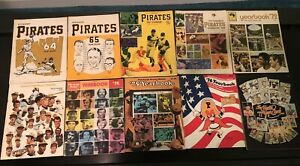 18 Pittsburgh Pirate Yearbook Souvenir Books Clemente 1964 To 1991