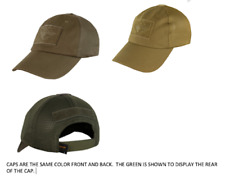Condor TCM Hook and Loop Patch Space Adjustable Tactical Team Baseball Cap Hat