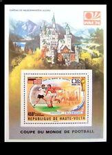 Football, Soccer, WC, Munich 1974, Sports, Volta Republic MNH SS