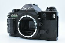 [As-Is] Canon AE-1 Program 35mm Film Manual Camera Black Body Only From Japan