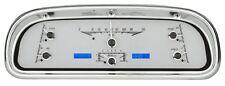 DAKOTA DIGITAL 60-63 Ford Falcon Analog Dash Gauge Silver Alloy Blue VHX-60F-FAL