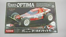 NOS 1986 Kyosho TURBO OPTIMA 1:10 Scale RC Racing Buggy#3130 Sealed Parts C9 Box