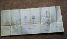 1914 Panama Canal Cristobal Coaling Plant Atlantic Terminals Ulysses Diagram