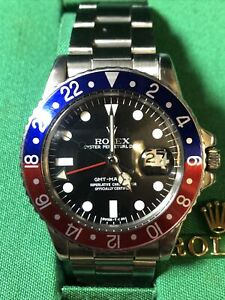 "1976 Rolex GMT Master 1675 ""Just Serviced"""