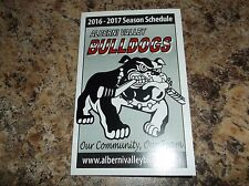 2016-17 ALBERNI VALLEY BULLDOGS BCHL SCHEDULE