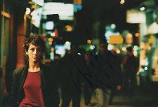 """Sibel Kekilli """"contro il muro"""" AUTOGRAFO SIGNED 20x30 cm immagine"""