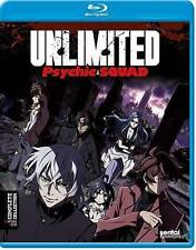 """Unlimited Psychic Squad Blu-ray """"LIKE NEW"""" episodes 1-12 **READ DESCRIPTION**"""