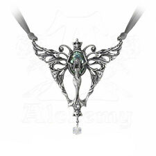 Necklace Collier Alchemy Gothic La Belle Esprit Absinthe Fairy Fée Ange Gothique