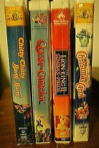 VHS NEW Factory sealed kids & Family movies You pick! $5.00 each