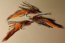 Bass Craw Crawlers, Brown/Orange/Gold, Holographic Heads, Sold per 3