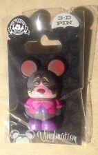 Disney Pin 85365 NEW Disney Vinylmation 3D Pin Dormouse