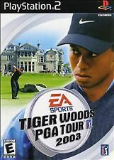 Tiger Woods PGA Tour 2003   (Sony PlayStation 2, 2002) Rated E for Everyone