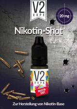 Nikotin-Shot Nicotine-Shot 10ml 20mg zur Herstellung von Base mit 3-6-9-12-16 mg