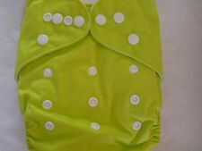 New Lime Cloth Pocket Diaper Microfiber Insert Boy Girl Eb0116