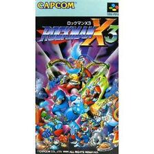 ROCKMAN Mega man SNES Super famicom SFC JAPAN ROCKMAN X3  01
