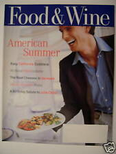 Food & Wine Magazine - August 1997
