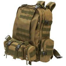 Heavy-Duty Outdoor EDC Tactical Backpack, Mens Camp Hike Trek Army School Bag