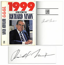 Richard Nixon First Edition of His Book 1999 Signed