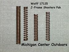 Wolff REDUCED TRIGGER PULL SPRING KIT for Smith & Wesson J Frame Revolver W17125