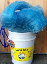 "LEE FISHER JOY FISH SERIES 7' RADIUS, 1"" SQUARE CAST NET, 14' DIAMETER"