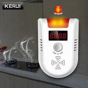 KERUI Detector de GAS GLP GD13, alarma, pantalla LED Digital inalámbrica