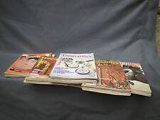 Lot de 38 magazines trouvailless années 1970 1980 art brocante antiquités