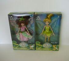 Disney Fairies TinkerBell Doll lot of 2 NIB Prilla and Tinker bell Disney Store