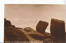 Cornwall Postcard - The Last Two Stones in England - Lands End   MB1563