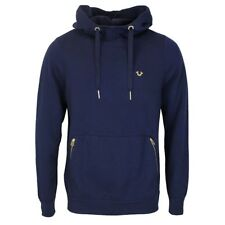 True Religion - French Blue Hoodie - Size M - *NEW WITH TAGS* RRP £160