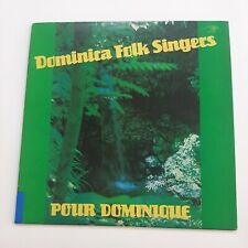 Dominica Folk Singers Pour Dominique Nature Island Record VG+ #4084
